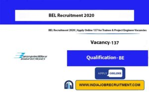 BEL Recruitment 2020