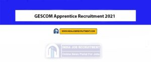 GESCOM Apprentice Recruitment 2021