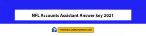 NFL Accounts Assistant Answer key 2021