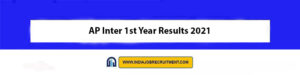 AP Inter 1st Year Results 2021 Check Out Now bie.ap.gov.in